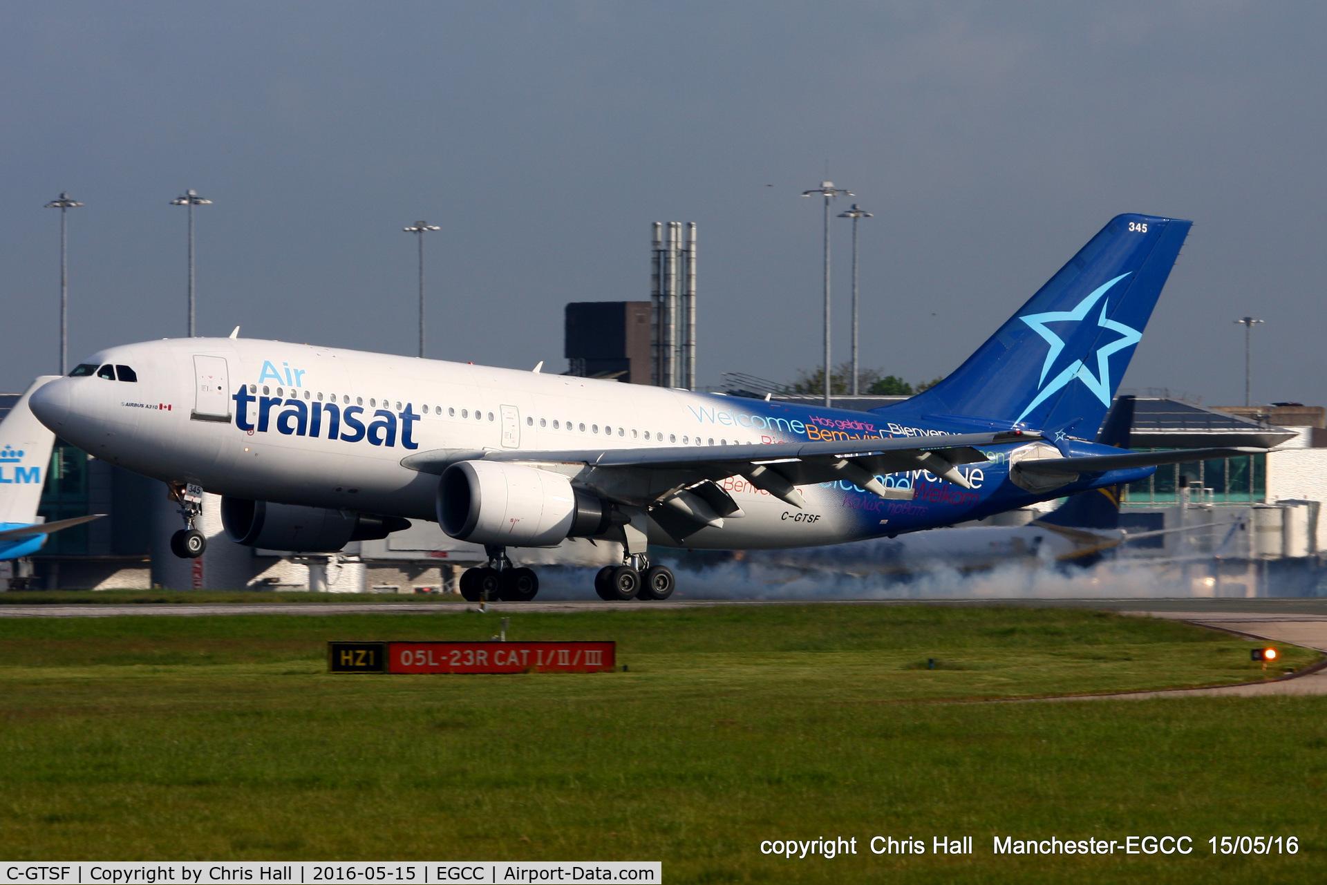 C-GTSF, 1988 Airbus A310-304 C/N 472, Air Transat