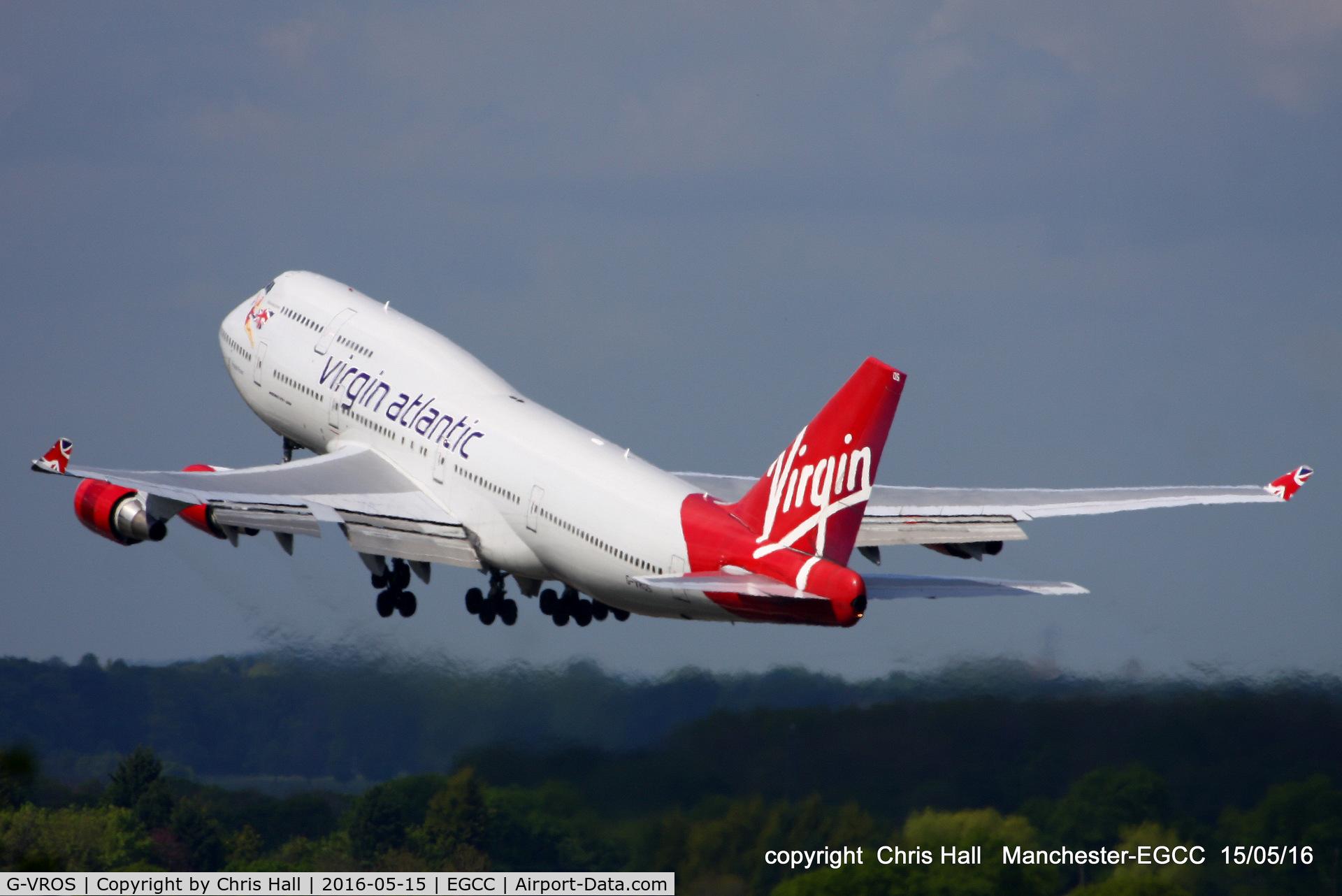 G-VROS, 2001 Boeing 747-443 C/N 30885, Virgin Atlantic