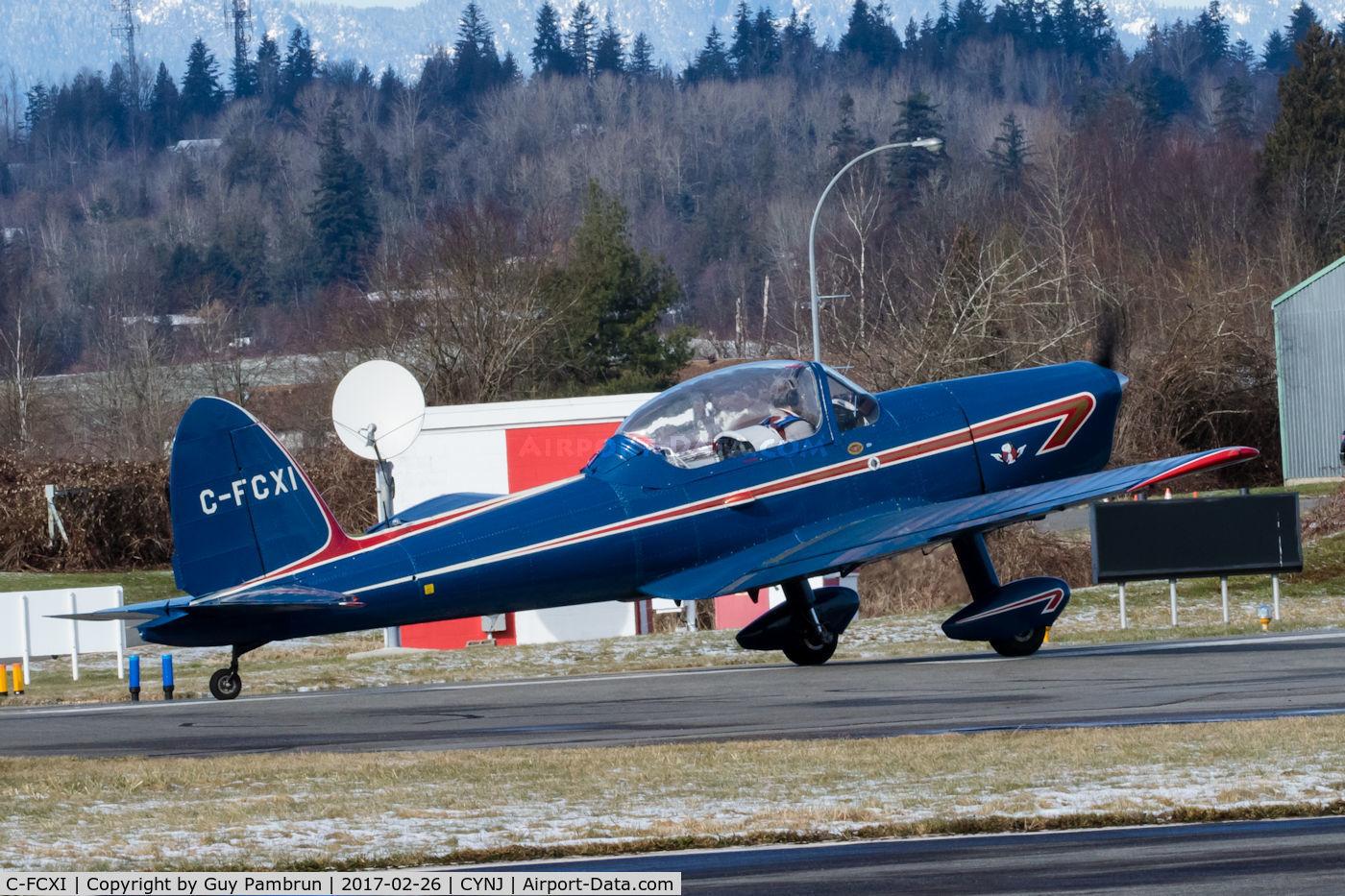 C-FCXI, 1950 De Havilland Canada DHC-1B-2 Chipmunk C/N 113-151, Takeoff