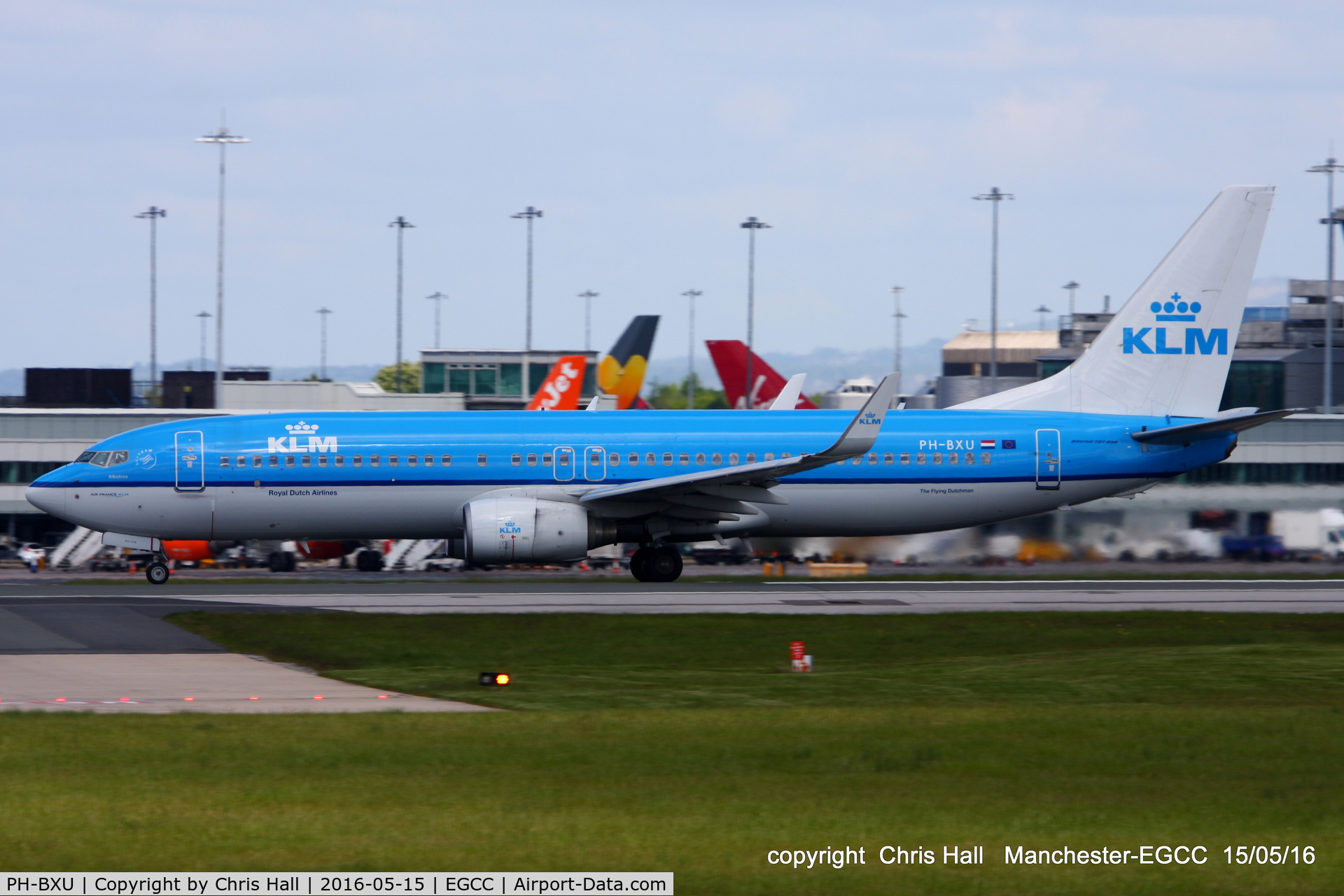 PH-BXU, 2006 Boeing 737-8BK C/N 33028, KLM Royal Dutch Airlines