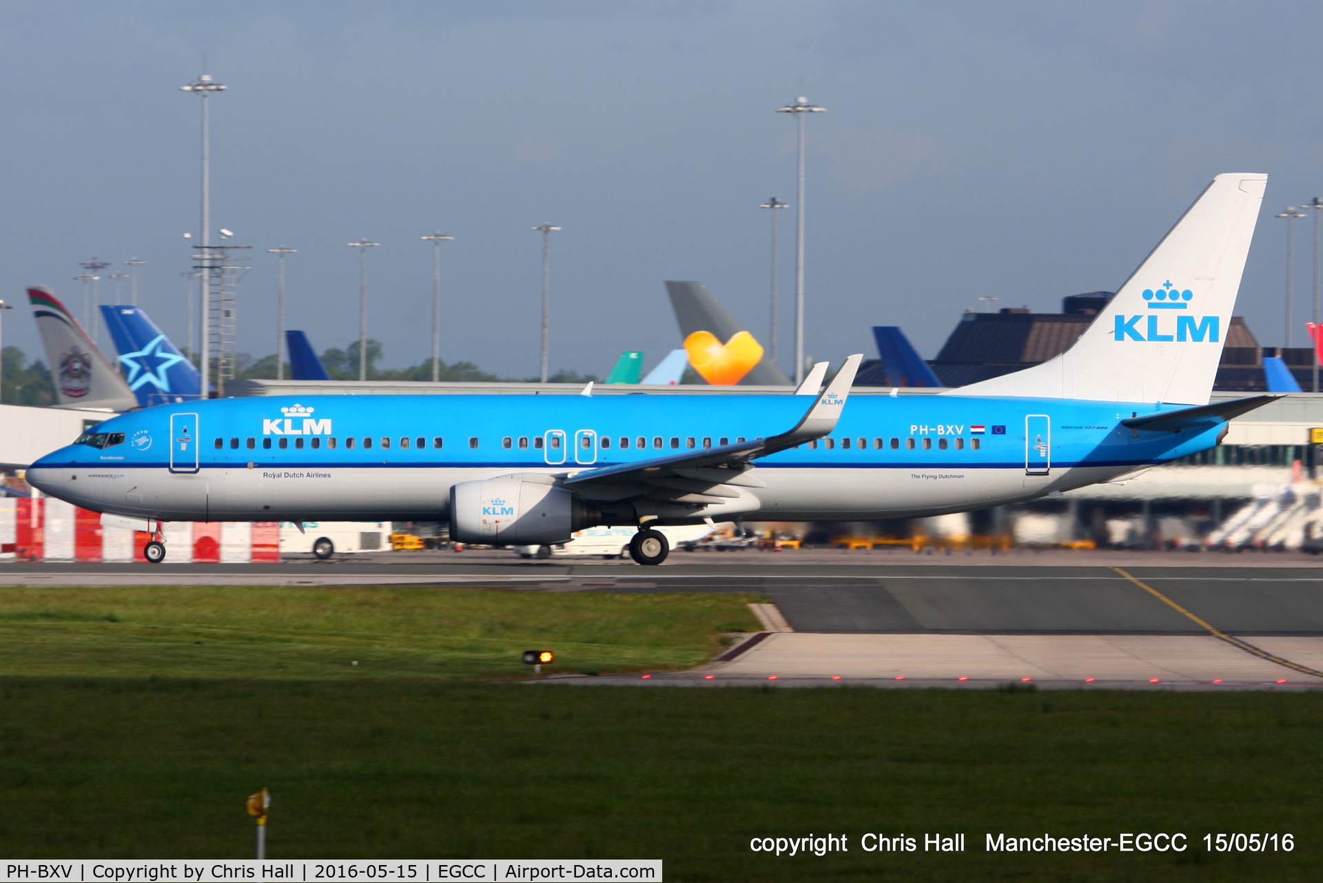 PH-BXV, 2007 Boeing 737-8K2 C/N 30370, KLM Royal Dutch Airlines