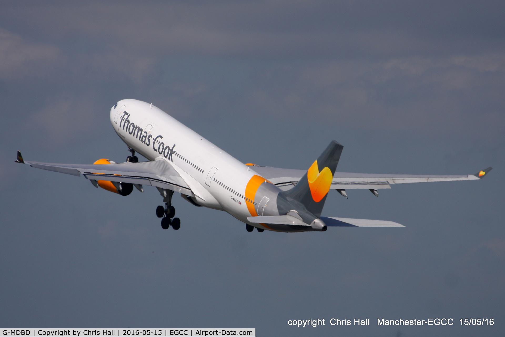 G-MDBD, 1999 Airbus A330-243 C/N 266, Thomas Cook