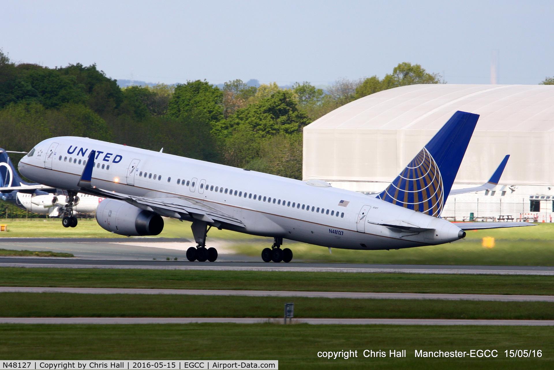 N48127, 1998 Boeing 757-224 C/N 28968, United