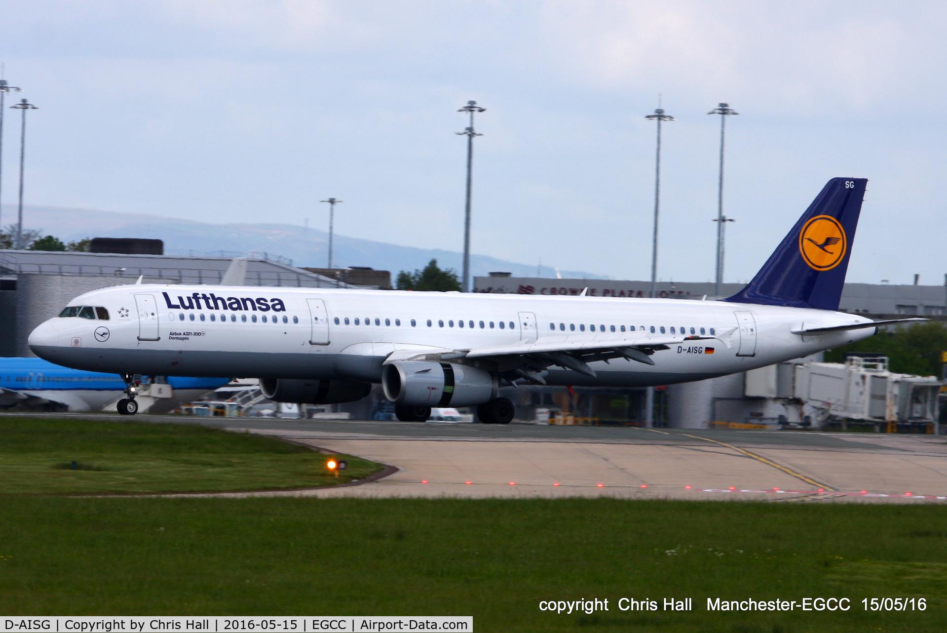 D-AISG, 2000 Airbus A321-231 C/N 1273, Lufthansa