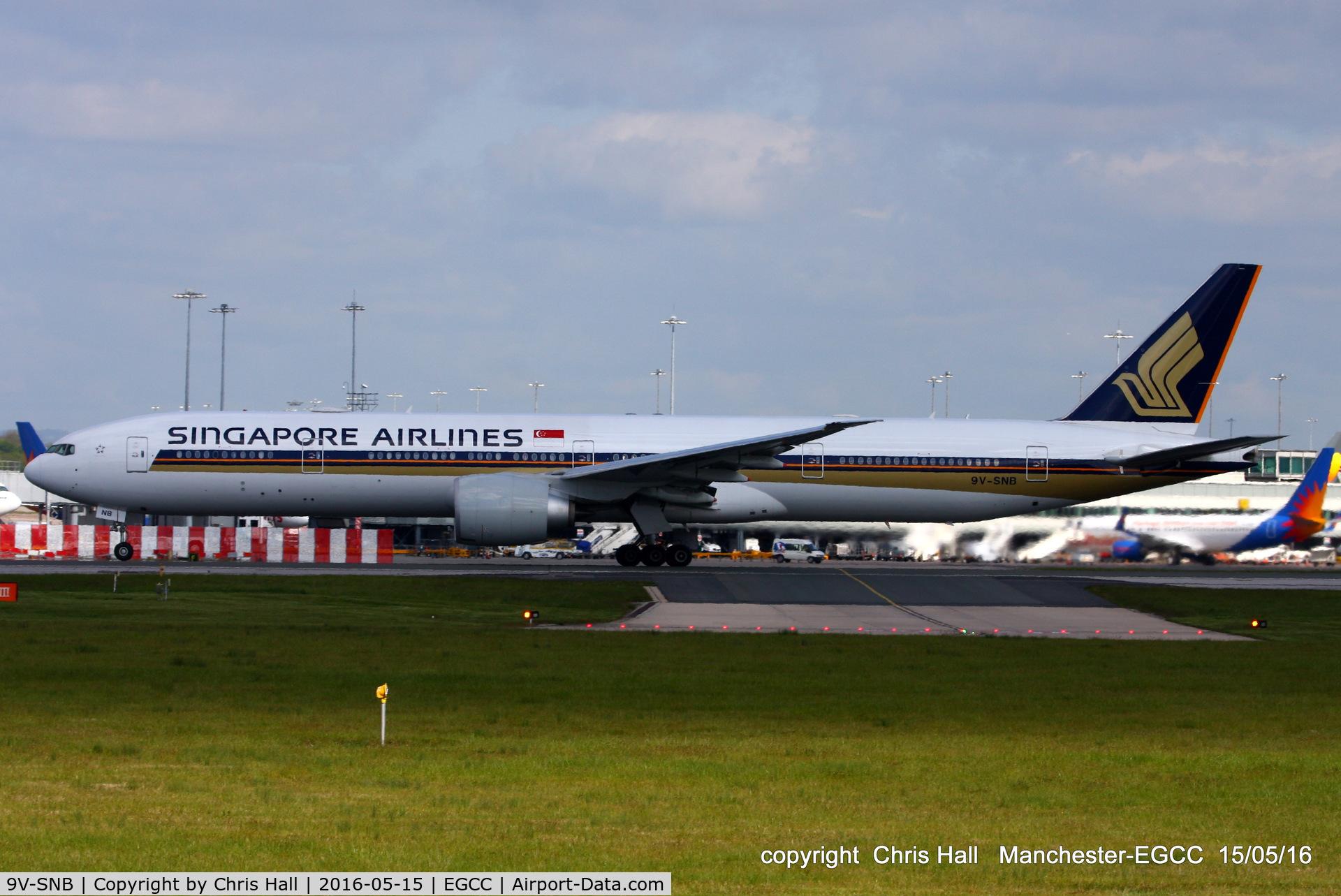 9V-SNB, 2015 Boeing 777-312/ER C/N 42241, Singapore Airlines