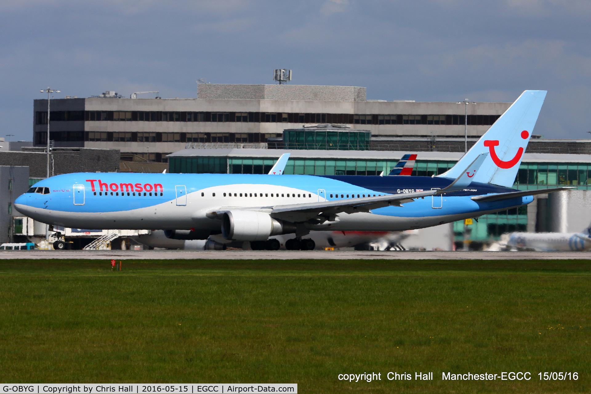 G-OBYG, 1999 Boeing 767-304 C/N 29137, Thomson