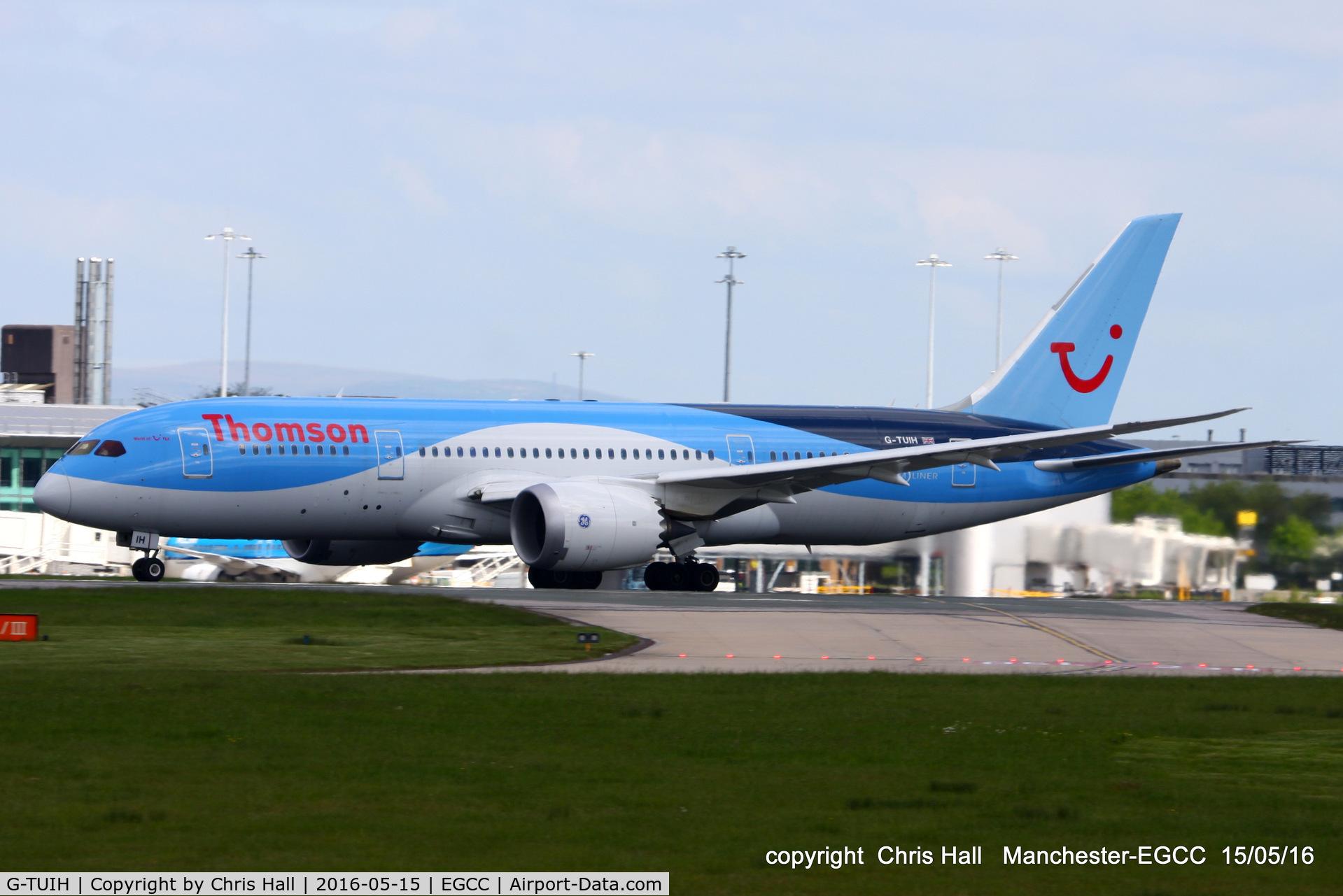 G-TUIH, 2015 Boeing 787-8 Dreamliner C/N 37229, Thomson