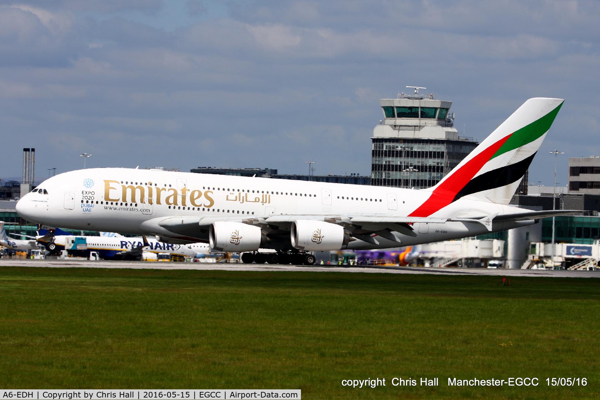 A6-EDH, 2009 Airbus A380-861 C/N 025, Emirates
