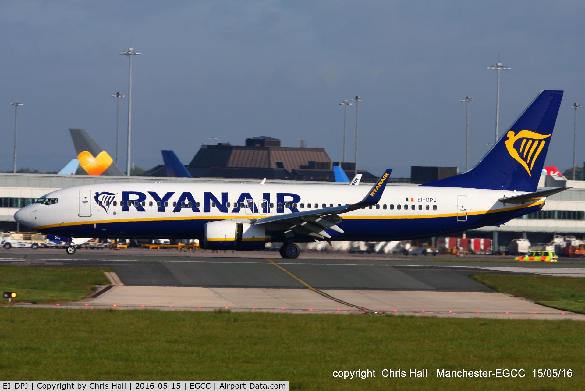 EI-DPJ, 2007 Boeing 737-8AS C/N 33609, Ryanair
