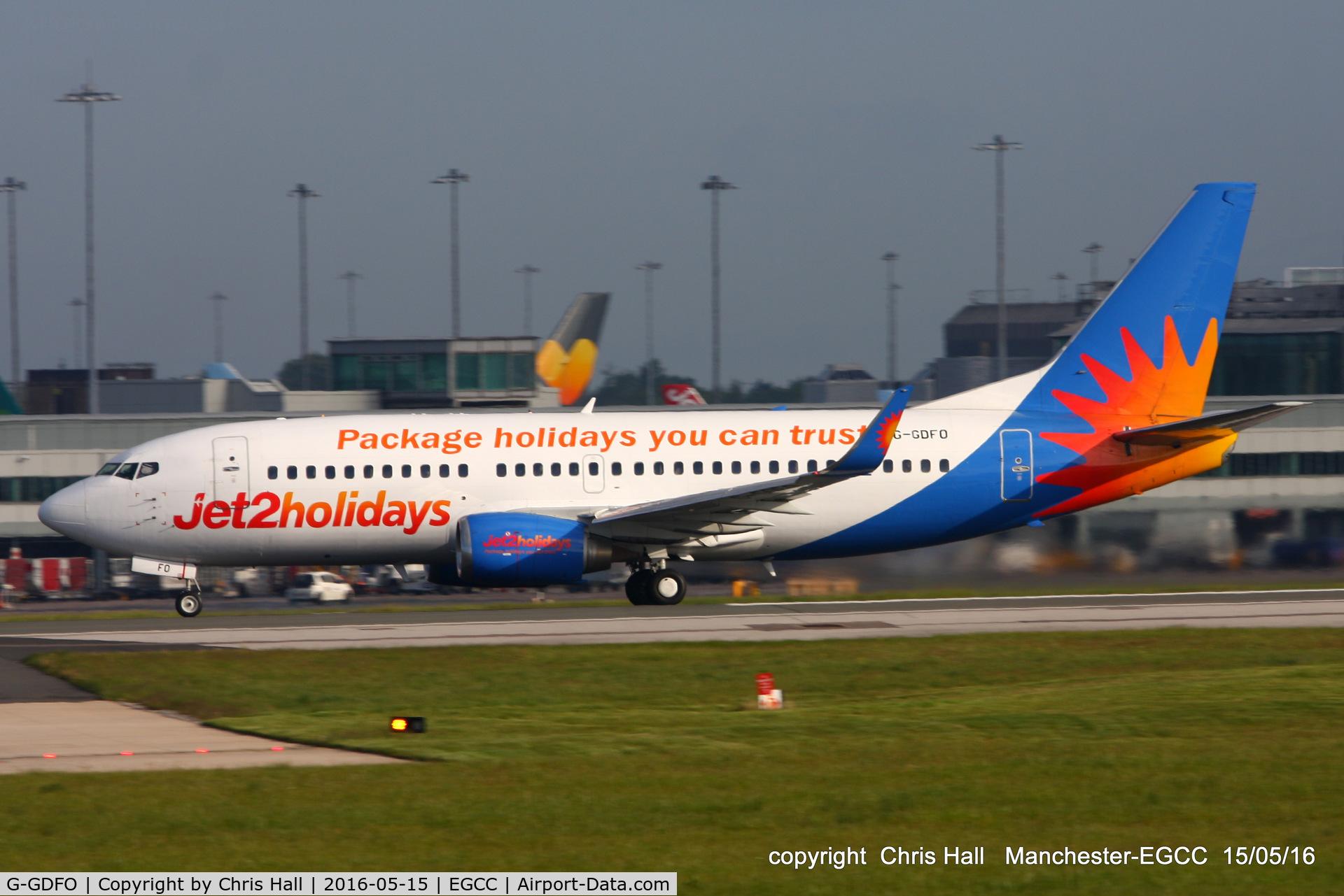 G-GDFO, 1998 Boeing 737-3U3 C/N 28740, Jet2