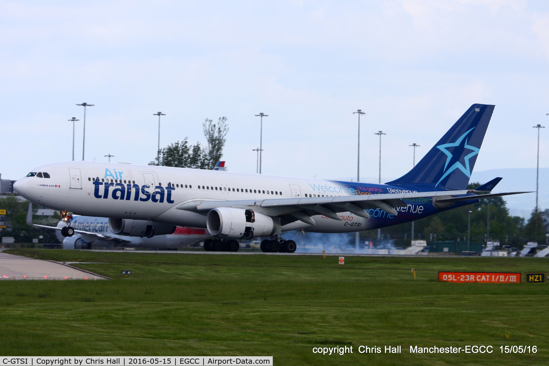 C-GTSI, 2001 Airbus A330-243 C/N 427, Air Transat