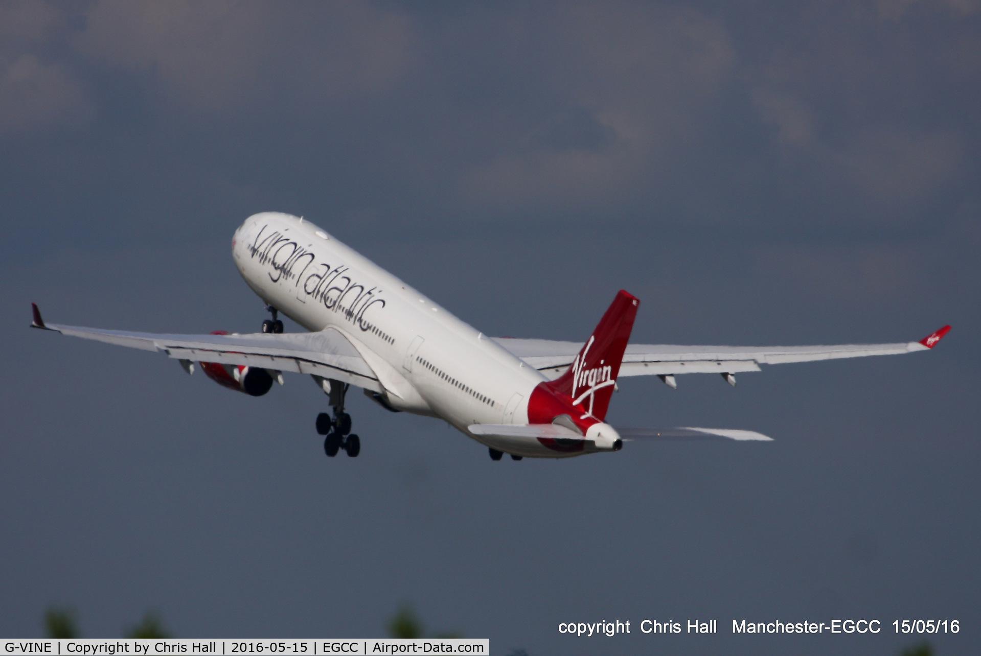 G-VINE, 2011 Airbus A330-343X C/N 1231, Virgin Atlantic