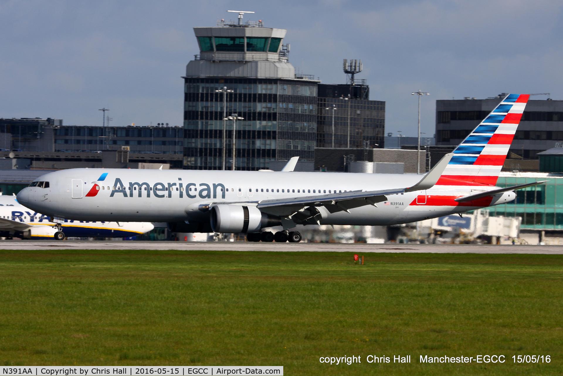 N391AA, 1995 Boeing 767-323 C/N 27451, American Airlines