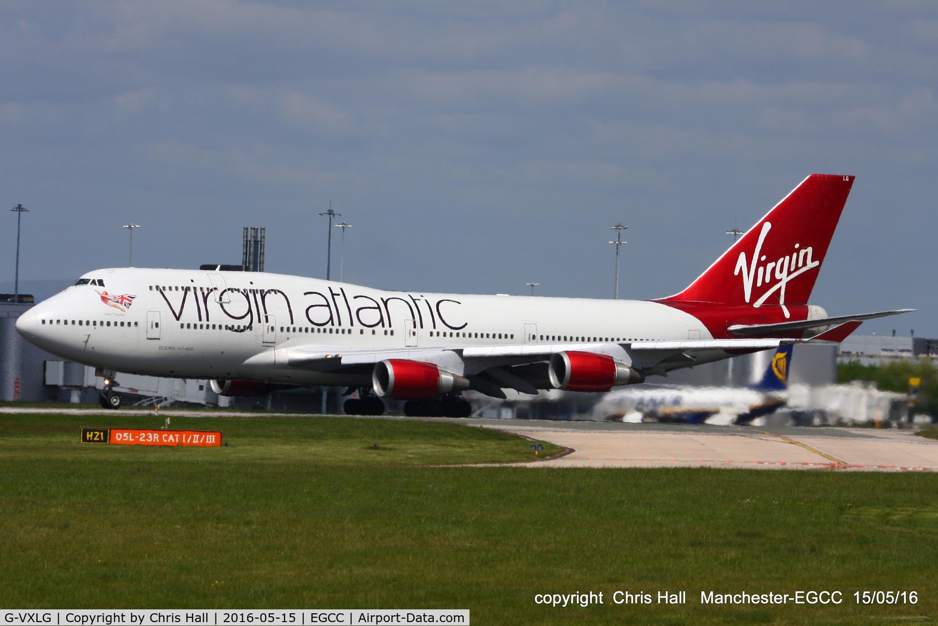 G-VXLG, 1998 Boeing 747-41R C/N 29406, Virgin Atlantic