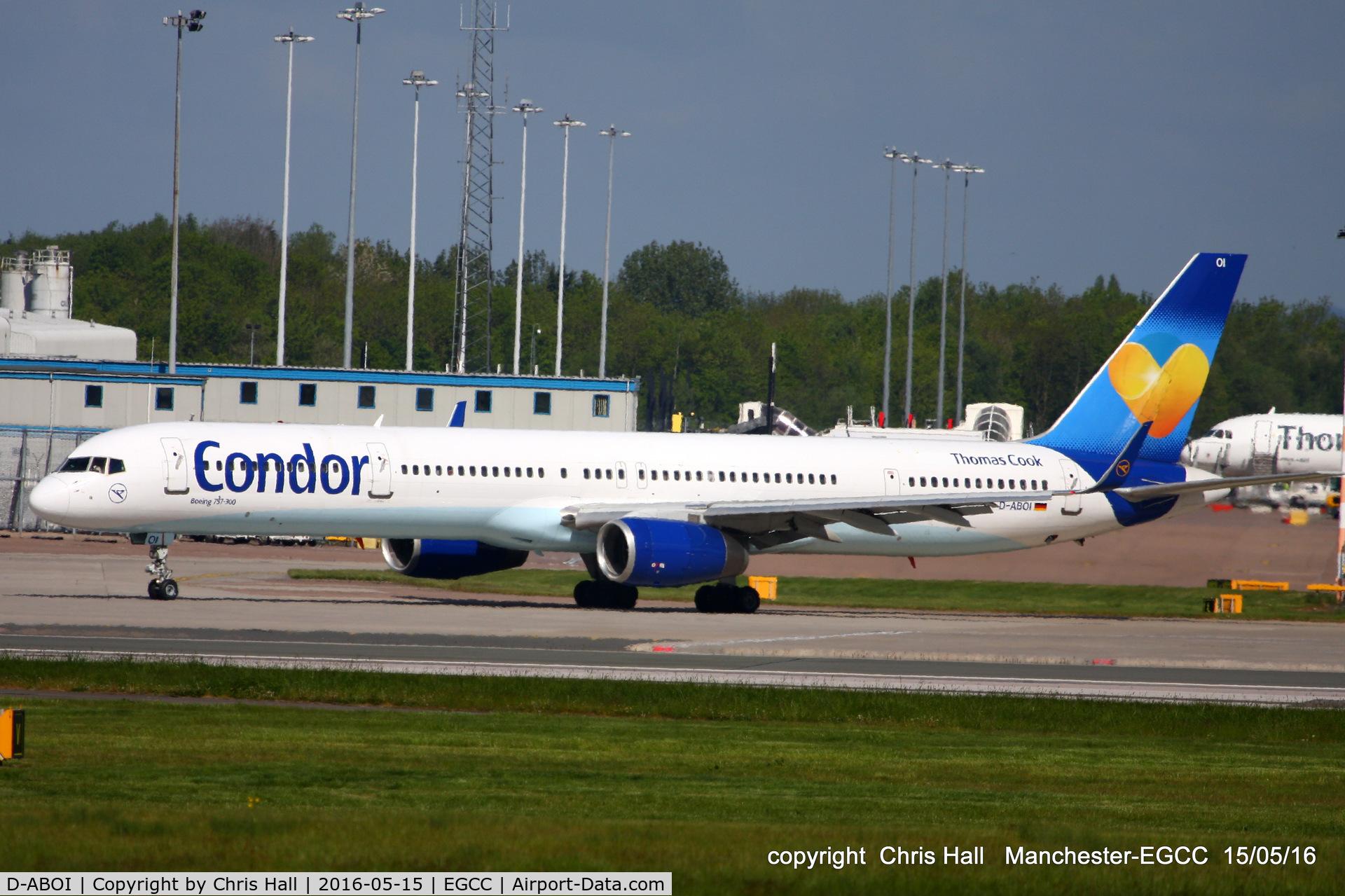 D-ABOI, 2000 Boeing 757-330 C/N 29018, Condor