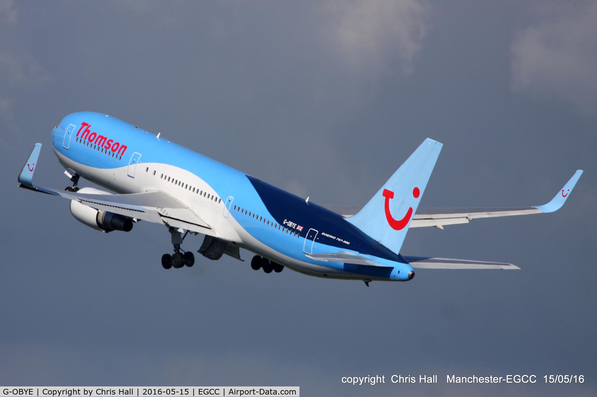G-OBYE, 1998 Boeing 767-304/ER C/N 28979, Thomson