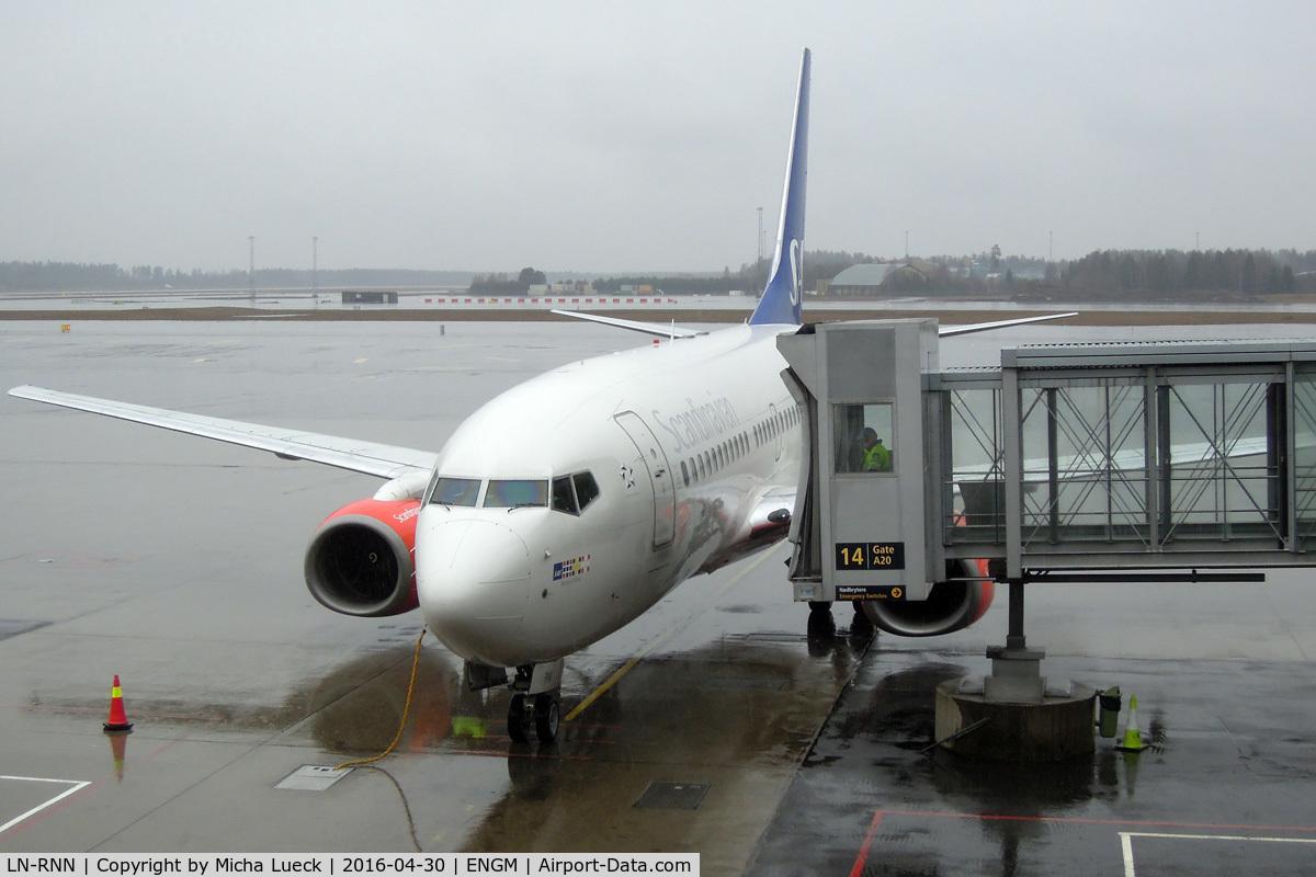 LN-RNN, 2000 Boeing 737-783 C/N 28315, At Oslo