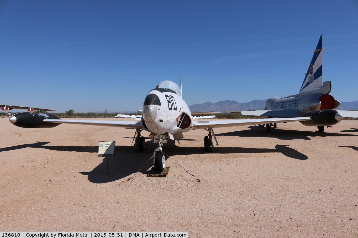 136810, Lockheed T-33B (TV-2 Seastar) C/N 580-7914, TV-2 Seastar