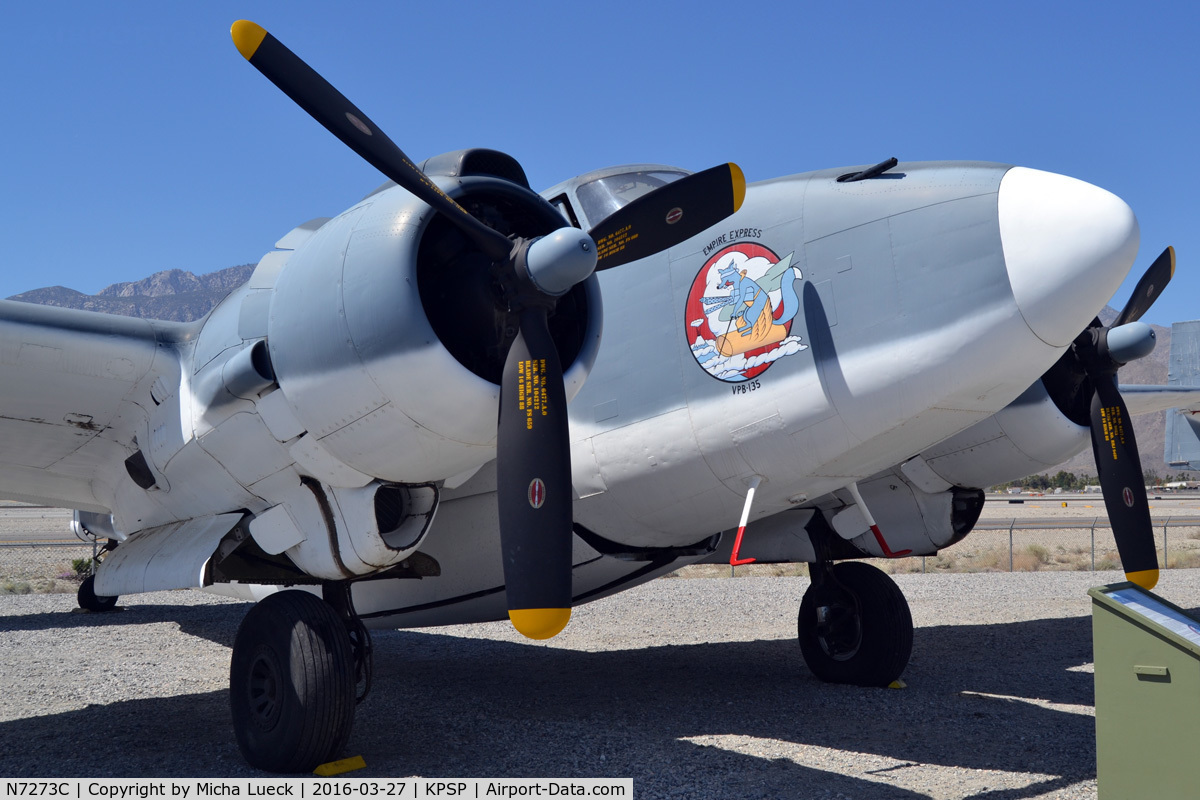 N7273C, 1940 Lockheed PV-2 Harpoon C/N 15-1177, At the Palm Springs Air Museum