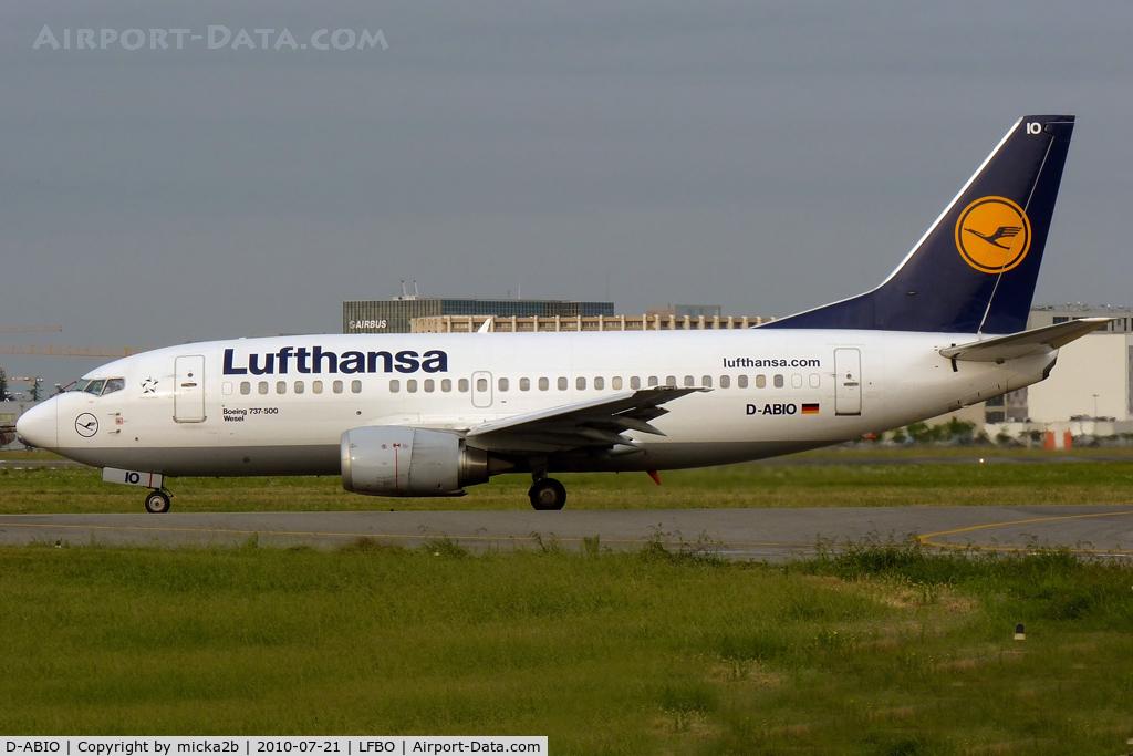 D-ABIO, 1991 Boeing 737-530 C/N 24939, Taxiing
