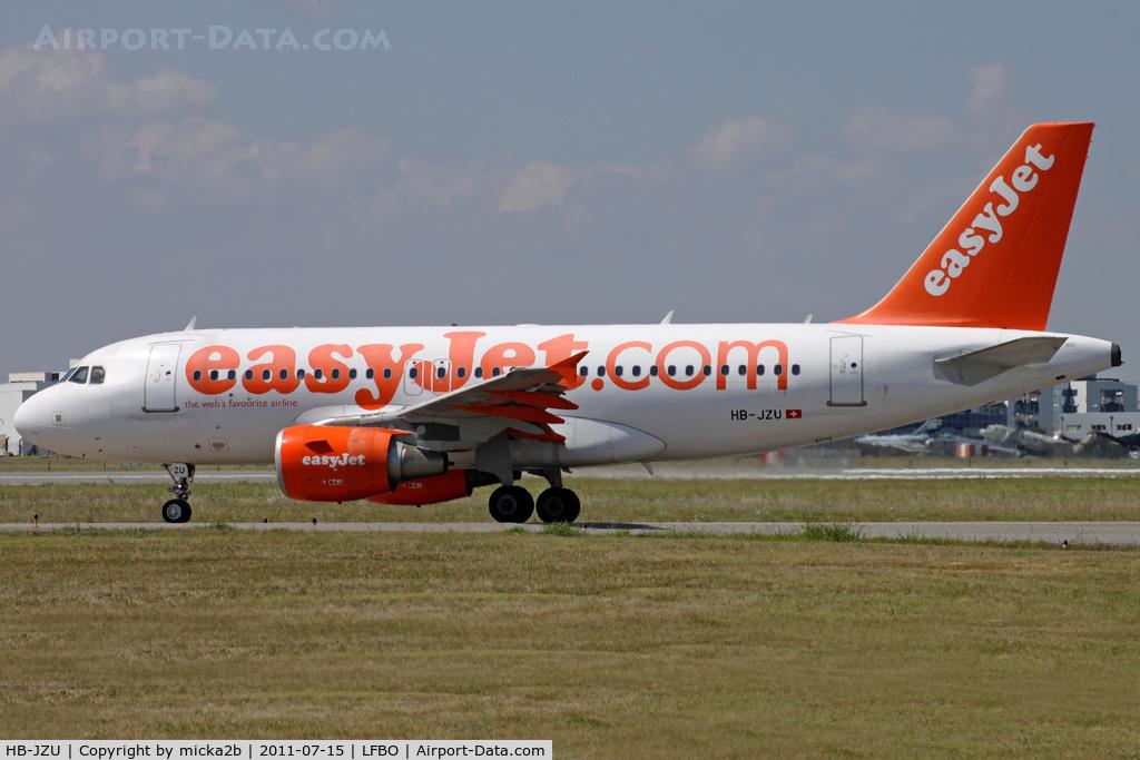 HB-JZU, 2005 Airbus A319-111 C/N 2402, Taxiing