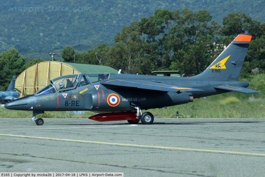 E165, Dassault-Dornier Alpha Jet E C/N E165, Now 8-RE