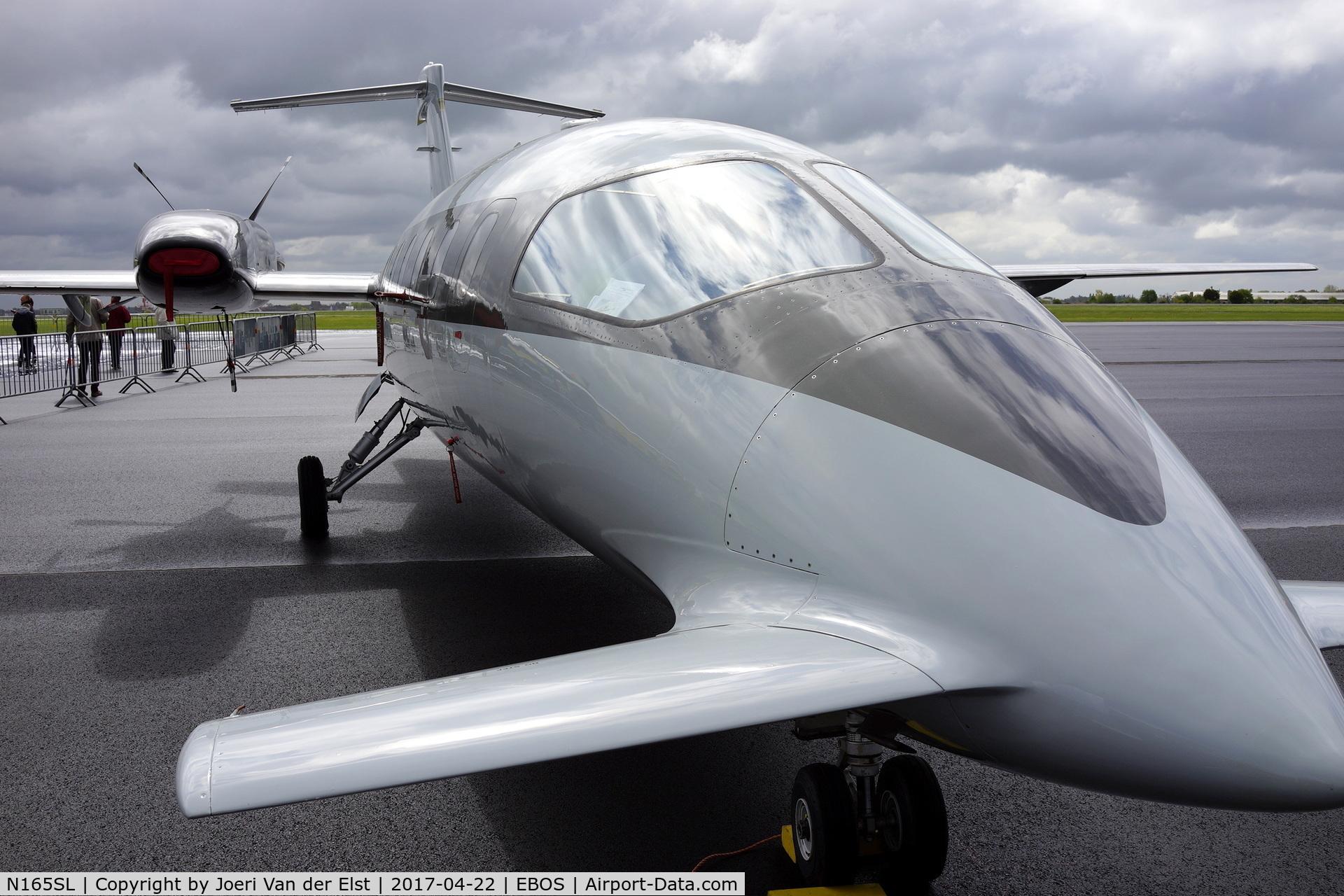 N165SL, 2007 Piaggio P-180 C/N 1135, Luchtvaartdag 2017