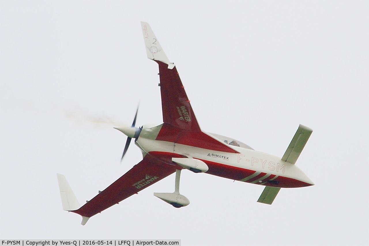 F-PYSM, Rutan VariEze C/N 2048, Rutan VariEze, On display, La Ferté-Alais airfield (LFFQ) Air show 2016