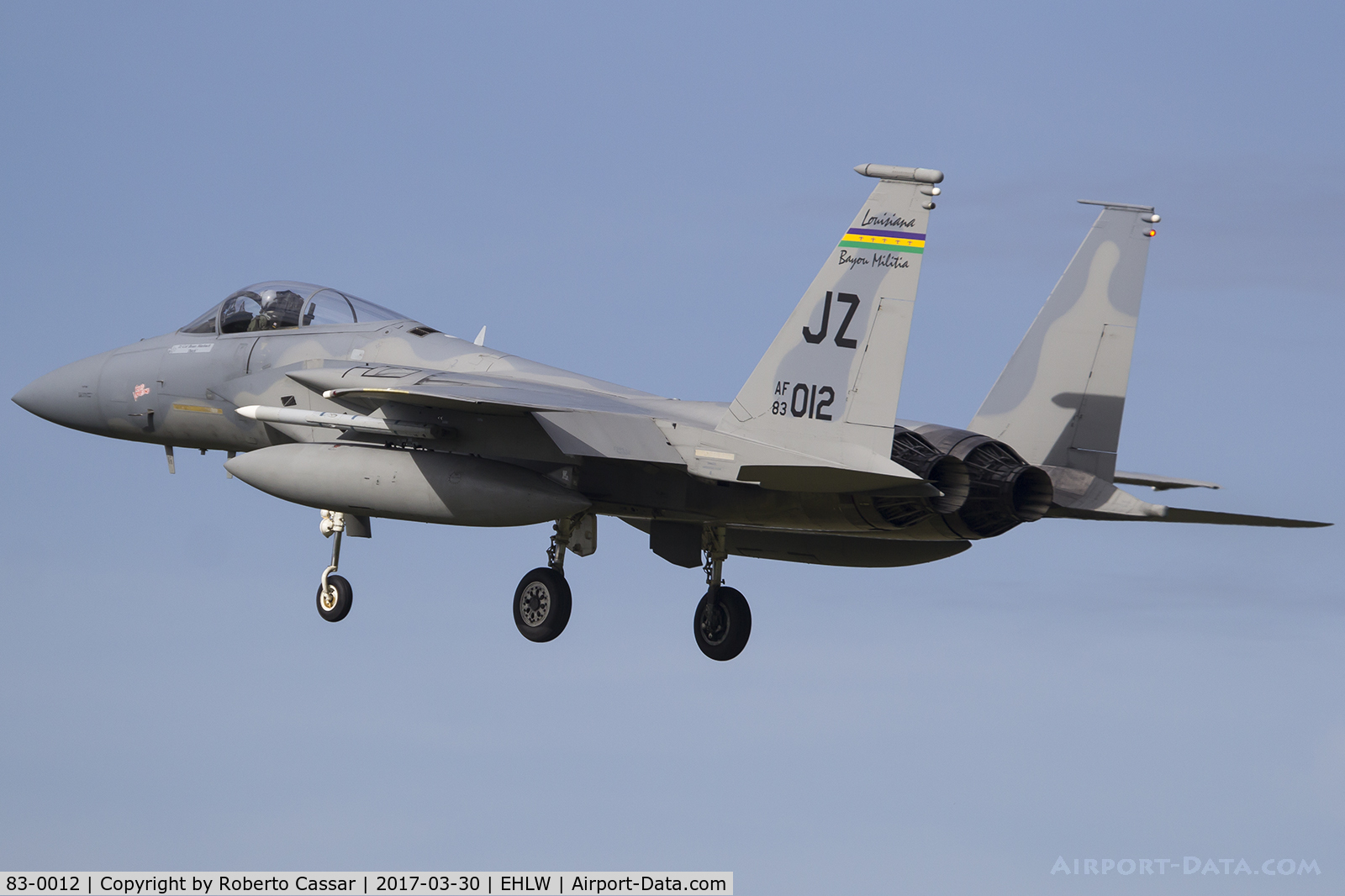 83-0012, 1983 McDonnell Douglas F-15C Eagle C/N 0858/C272, Frisian Flag 2017