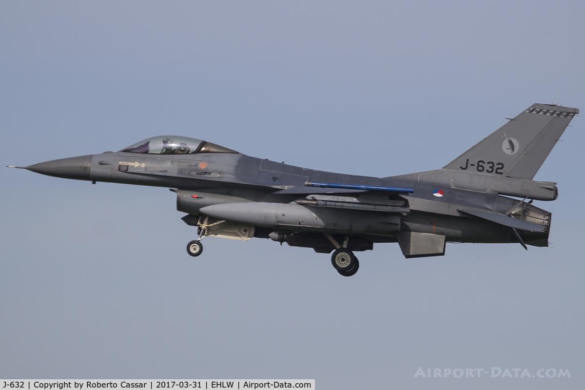 J-632, General Dynamics F-16A Fighting Falcon C/N 6D-64, Frisian Flag 2017