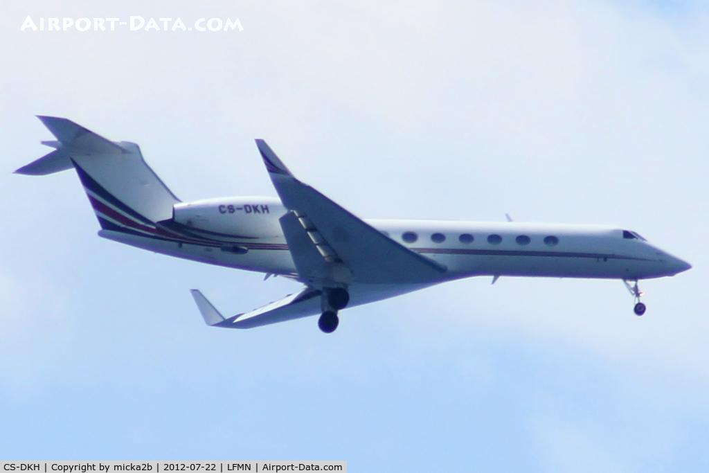 CS-DKH, 2007 Gulfstream Aerospace GV-SP Gulfstream G550 C/N 5150, Landing