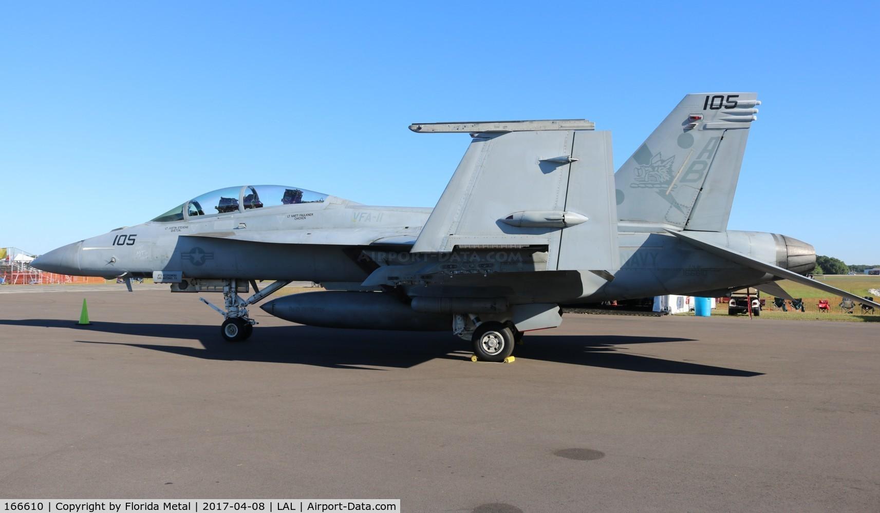 166610, Boeing F/A-18F Super Hornet C/N F103, Super Hornet