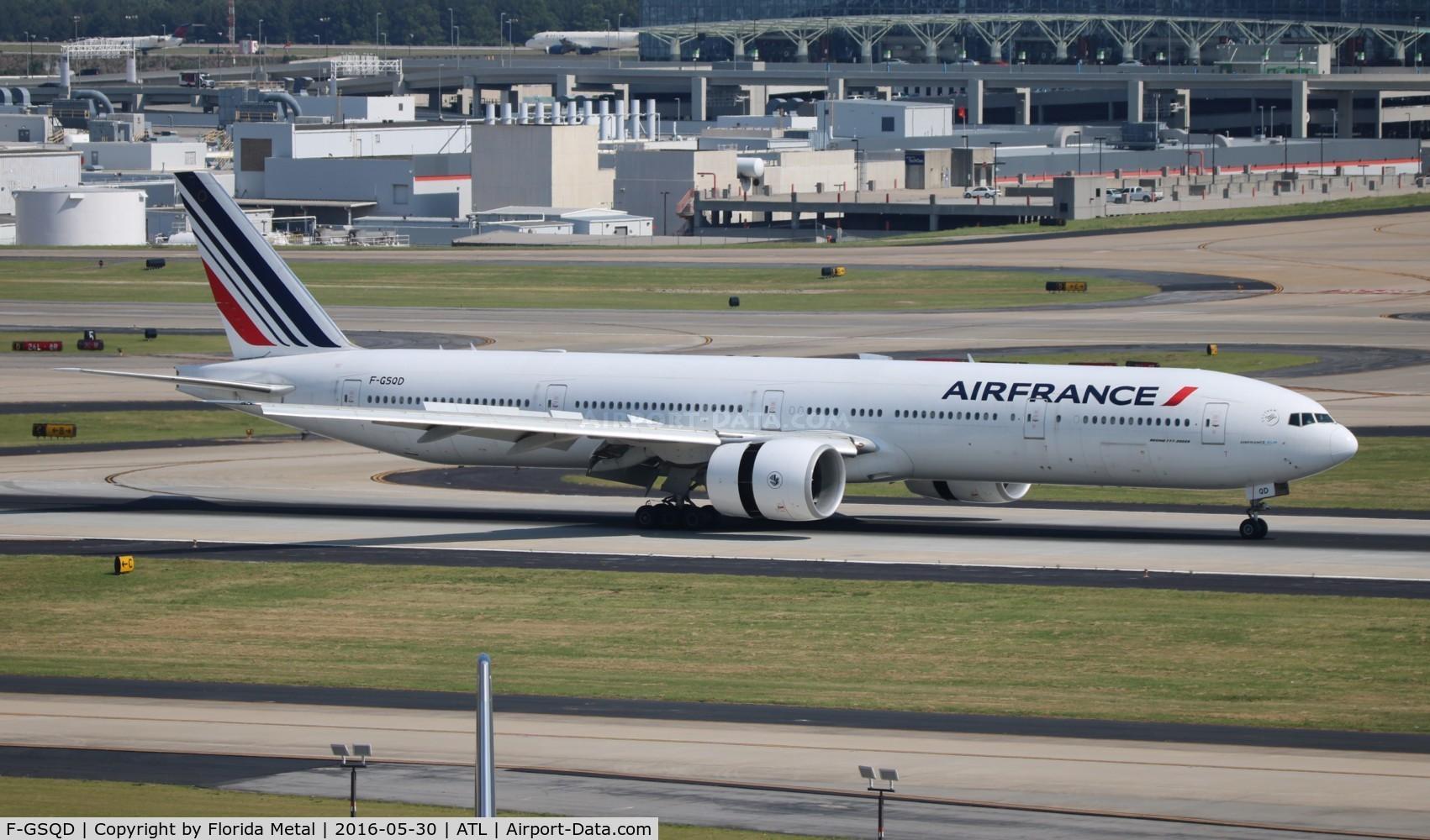 F-GSQD, 2004 Boeing 777-328/ER C/N 32726, Air France