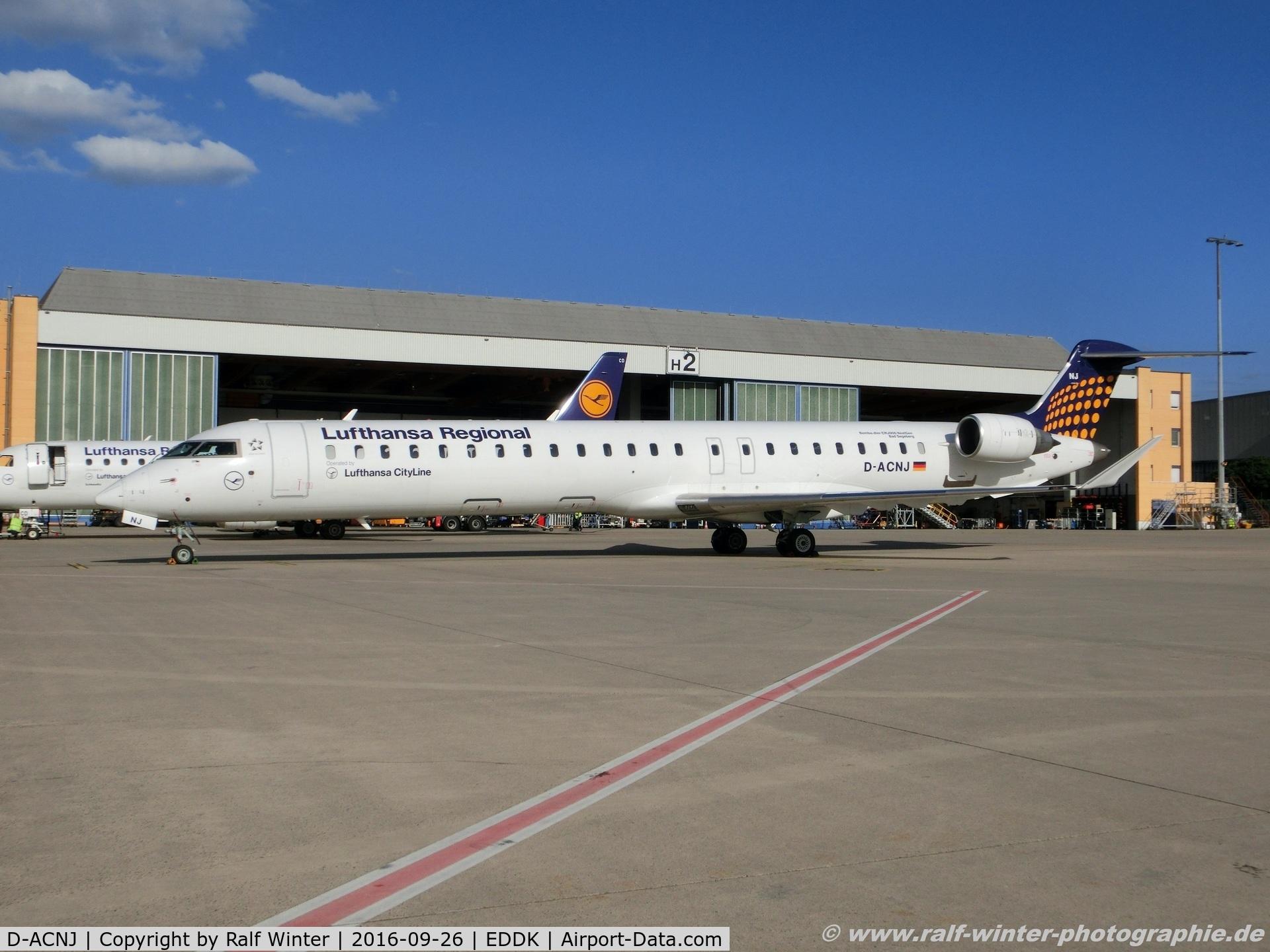 D-ACNJ, 2010 Bombardier CRJ-900 NG (CL-600-2D24) C/N 15249, Bombardier CL-600-2D24 CRJ-900LR - EW EWG - Eurowings  'Lufthansa Regional' - 15249 - D-ACNJ - 26.09.2016 - CGN