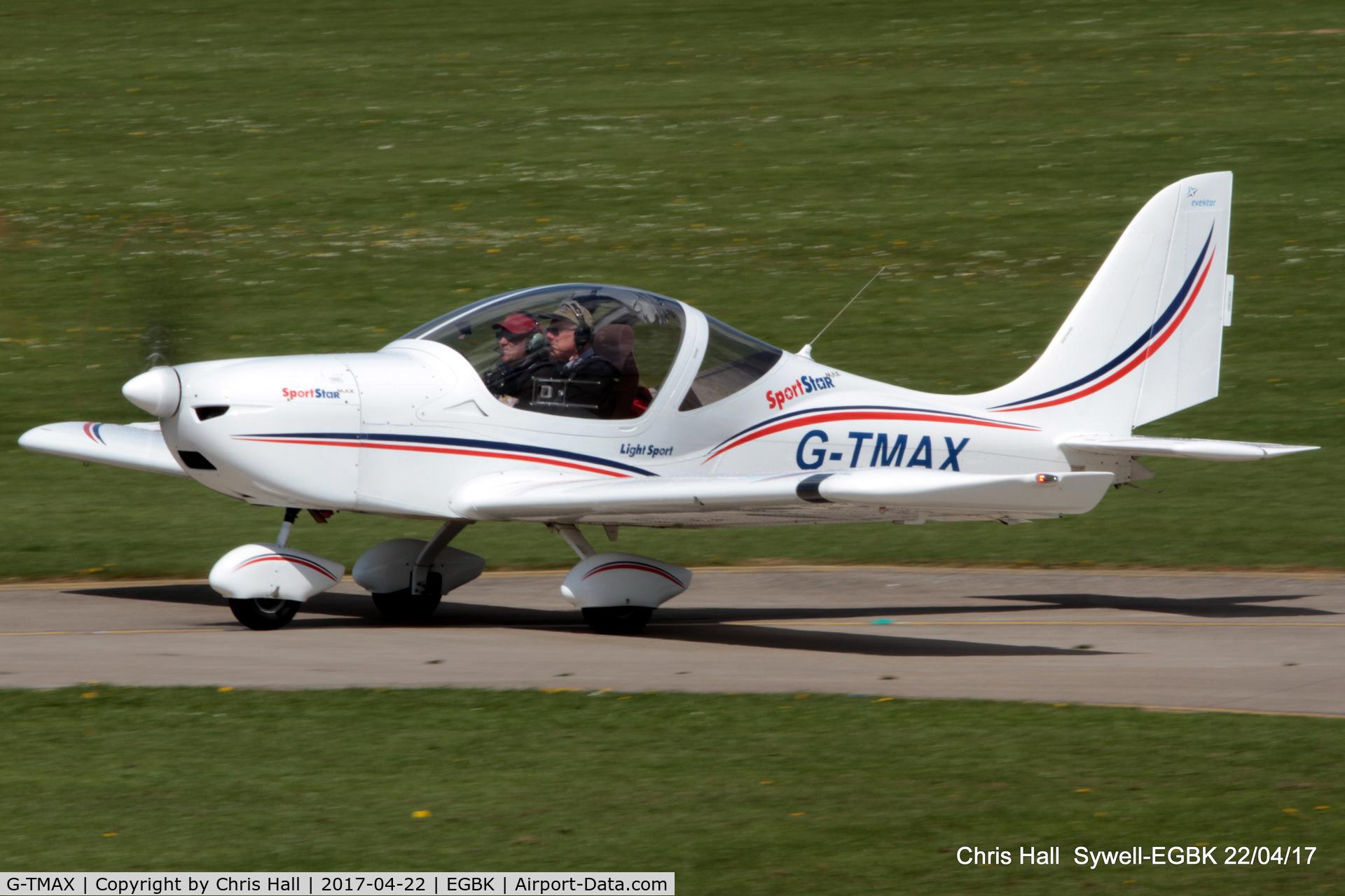 G-TMAX, 2010 Evektor-Aerotechnik Sportstar Max C/N 2010-1305, at the EV-97 fly in. Sywell