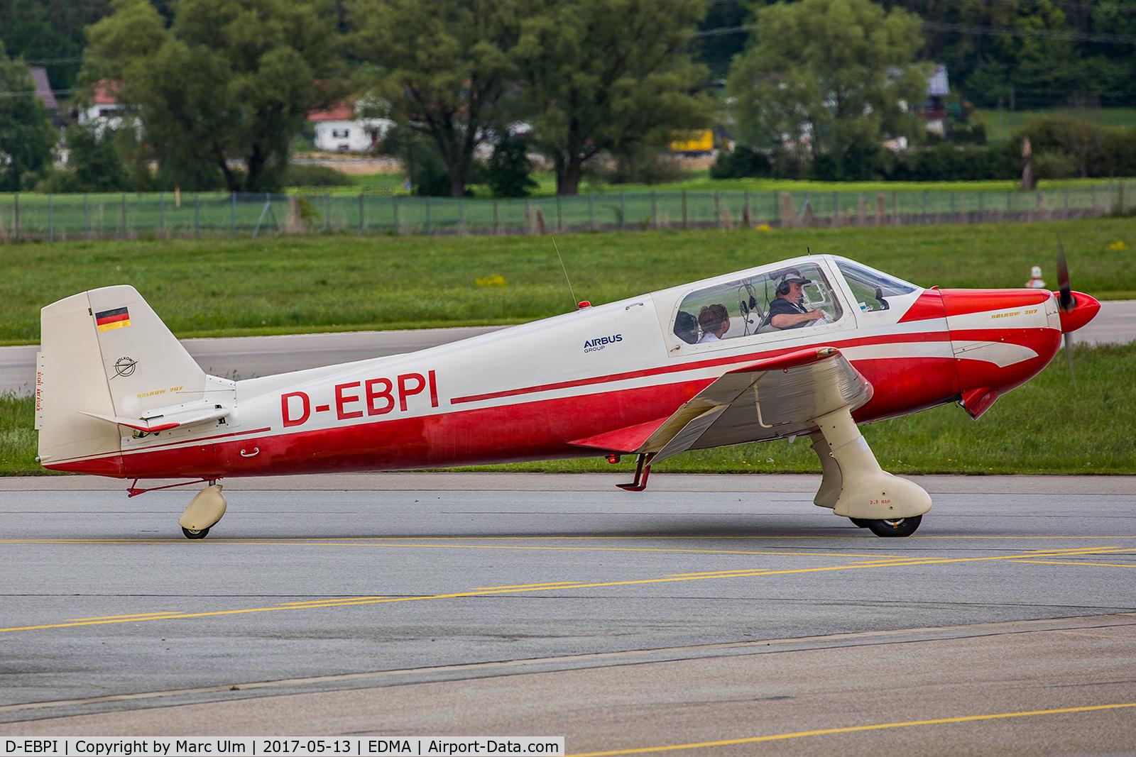 D-EBPI, 1962 Bolkow Bo-207 C/N 237, Nice visitor!