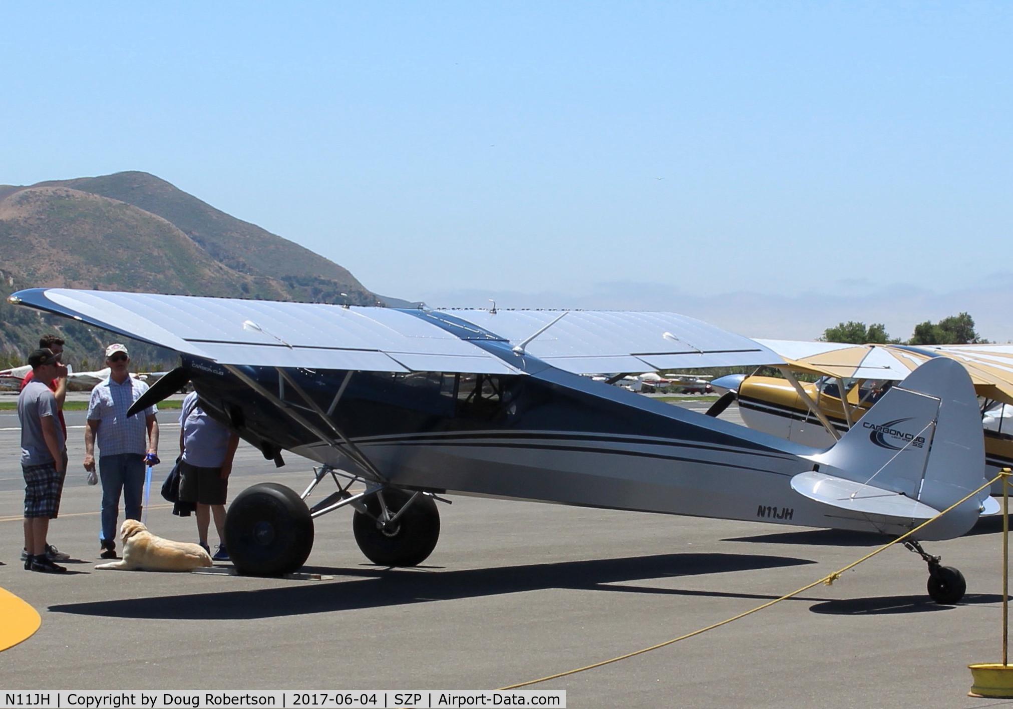 Aircraft N11JH (2016 Cub Crafters CC11-160 Carbon Cub SS C/N CC11