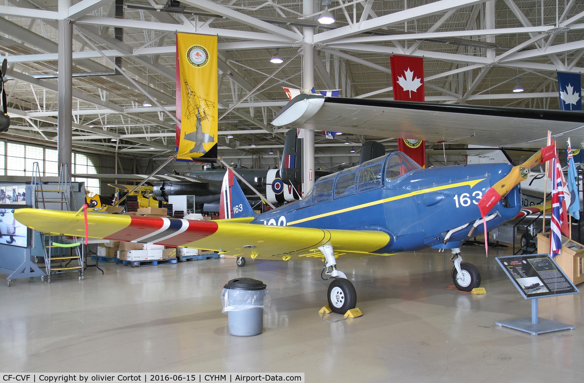CF-CVF, 1947 Fairchild M-62A-3 Cornell II C/N 1070, CWH museum