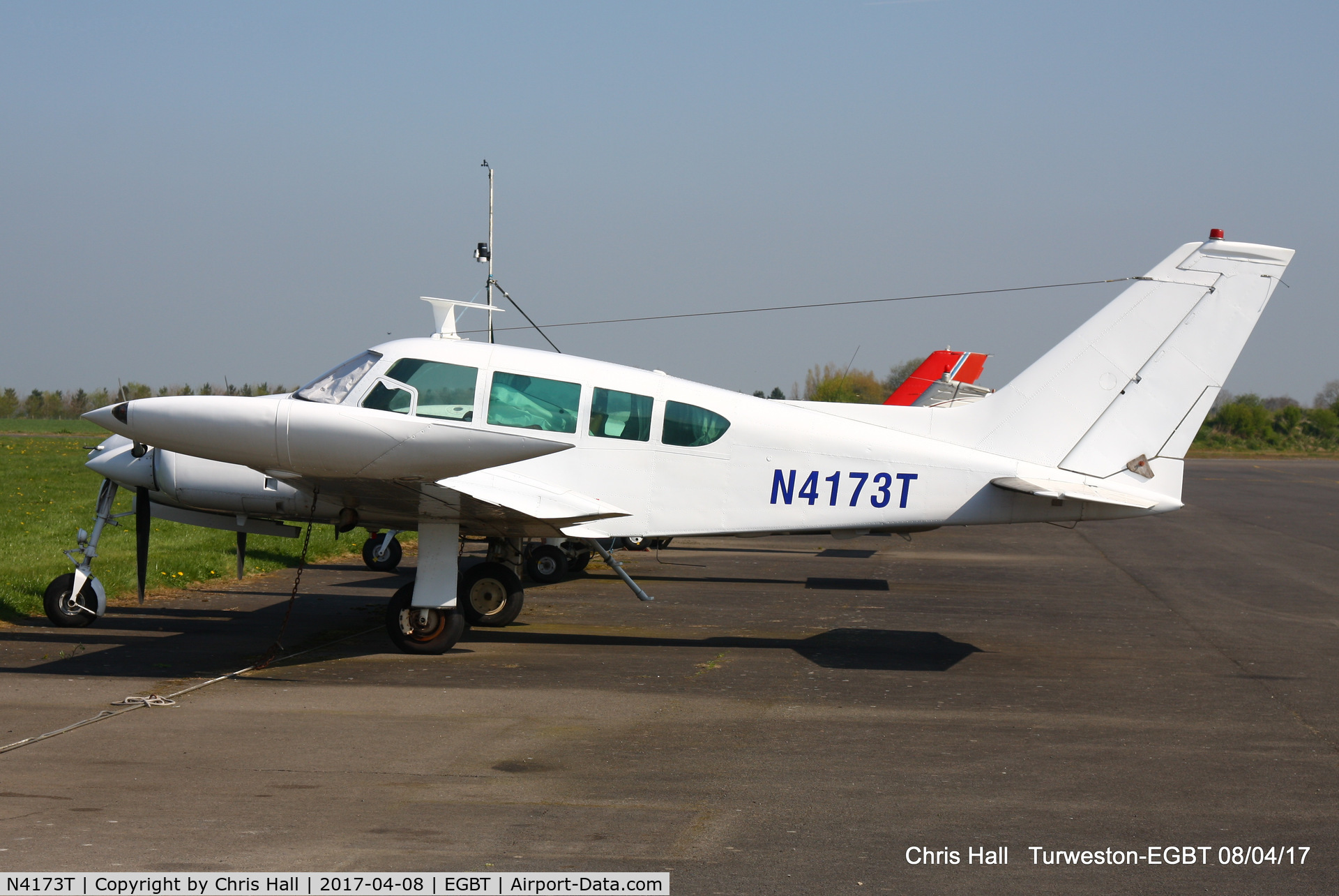 N4173T, 1965 Cessna 320D Executive Skyknight C/N 320D0073, at Turweston