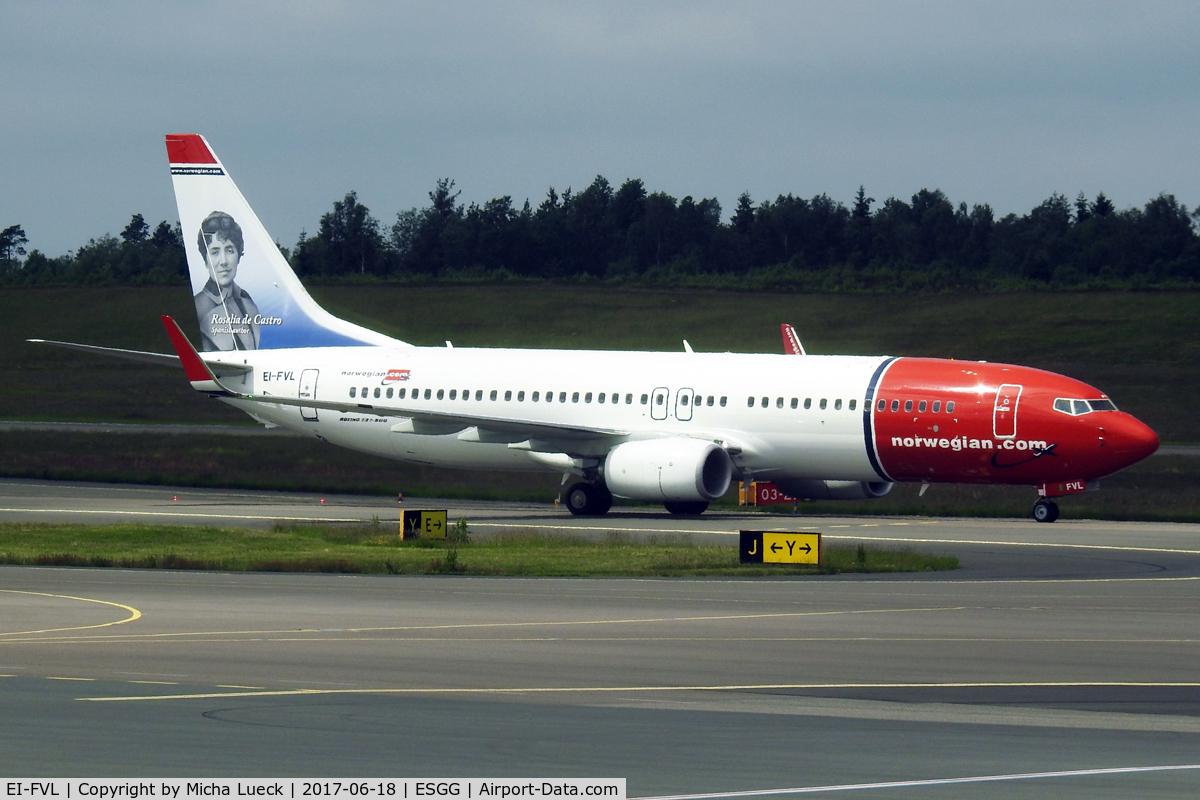 EI-FVL, 2017 Boeing 737-86N C/N 42084, At Gothenburg