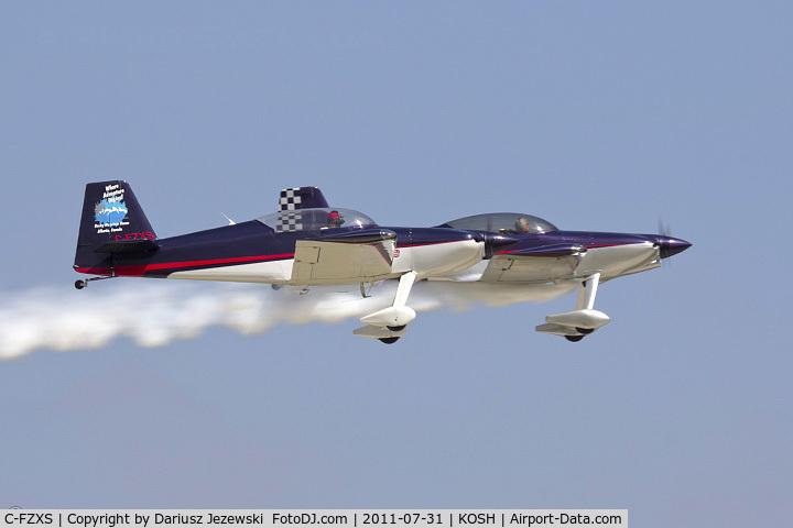C-FZXS, 1997 Harmon Rocket II C/N 140, Harmon Rocket II CN 140 - Ken Fowler, C-FZXS