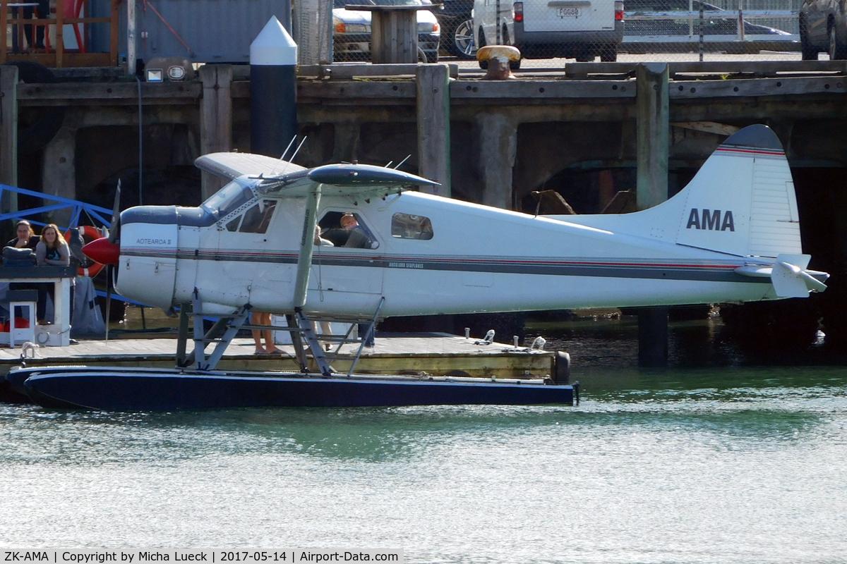 ZK-AMA, 1963 De Havilland Canada DHC-2 Beaver Mk.1 C/N 1477, In the Viaduct Harbour, Auckland