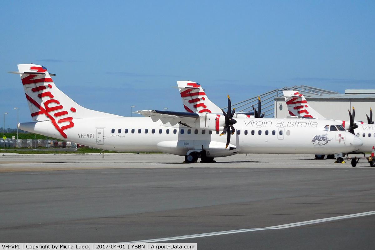 VH-VPI, 2013 ATR 72-600 (72-212A) C/N 1107, At Brisbane