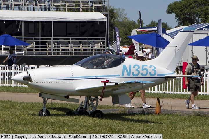 N353, 1999 Questair Venture 20 C/N AT-7, Venture Model 20 CN AT-7, N353