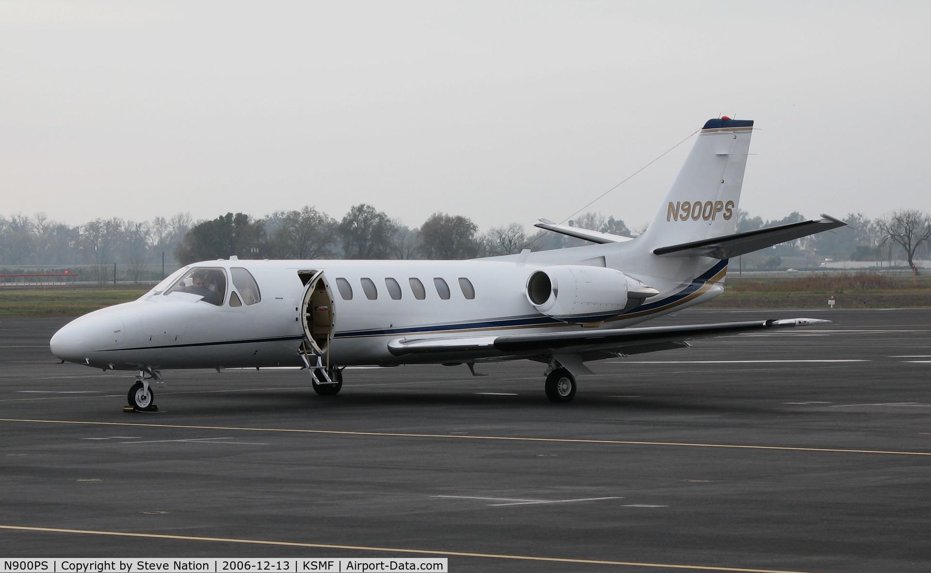 N900PS, 1991 Cessna 560 Citation V C/N 560-0118, Papa Sierra LLC, Bend, OR 1991 Cessna 560 on Executive Terminal ramp @ Sacramento International Airport, CA