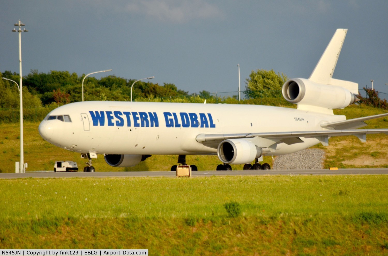 N545JN, 1995 McDonnell Douglas MD-11F C/N 48545, MD11F