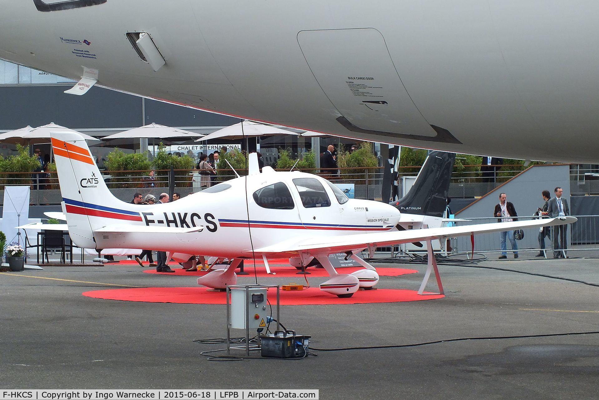 Aircraft F-HKCS (Cirrus SR22 C/N 3884) Photo by Ingo Warnecke (Photo ID:  AC1316743)