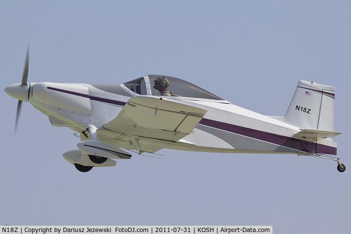 N18Z, 1971 Thorp T-18 Tiger C/N 394, Thorp T-18 CN 394, N18Z