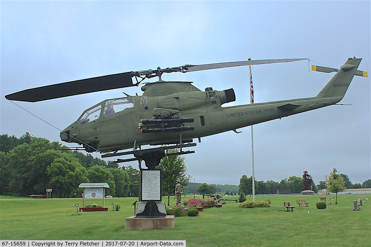 67-15659, 1967 Bell AH-1 Cobra C/N 20323, Preserved at Strum , Wisconsin