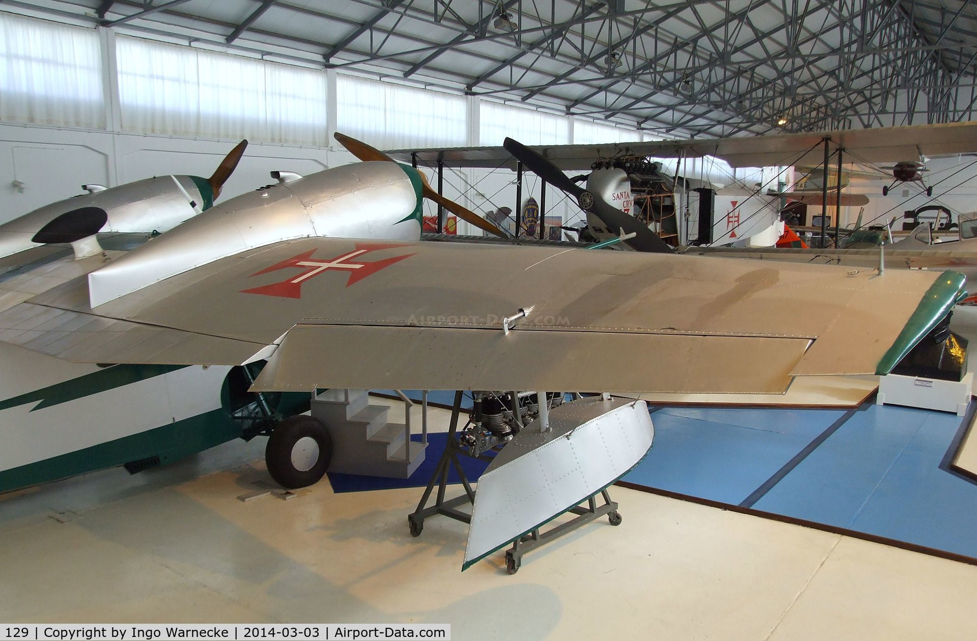 129, 1942 Grumman G-44 Widgeon C/N 1251, Grumman G.44 Widgeon at the Museu do Ar, Alverca